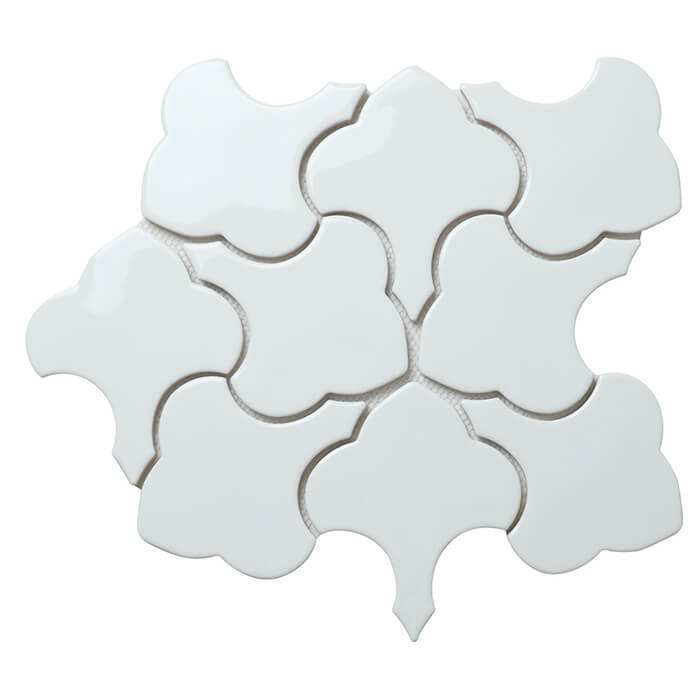 irregular leave shape glazed porcelain mosaic tile.jpg