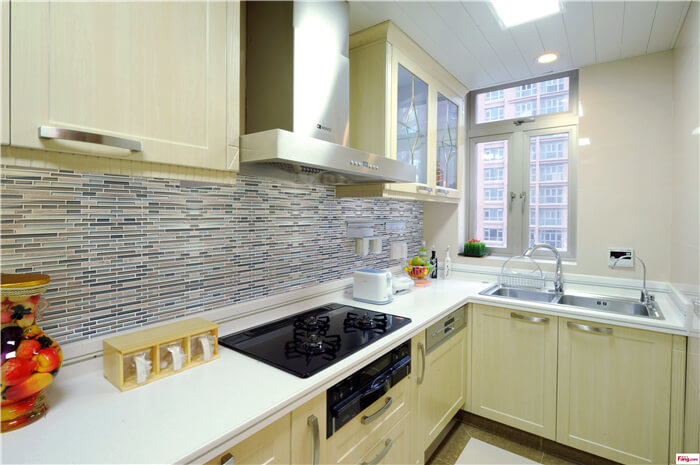 colorful glass mixed stone striped tiles nice for kitchen backsplash.jpg