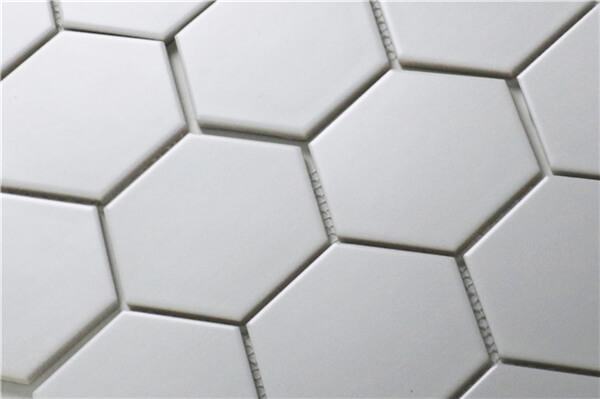 matte white hexagon mosaic wall and floor tile.jpg