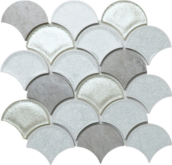 glass ceramic stone mixed fish scale fan shaped mosaic tile.jpg
