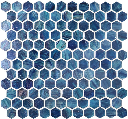 gradient blue mosaic hexagon tile for interior wall and swimming pool.jpg