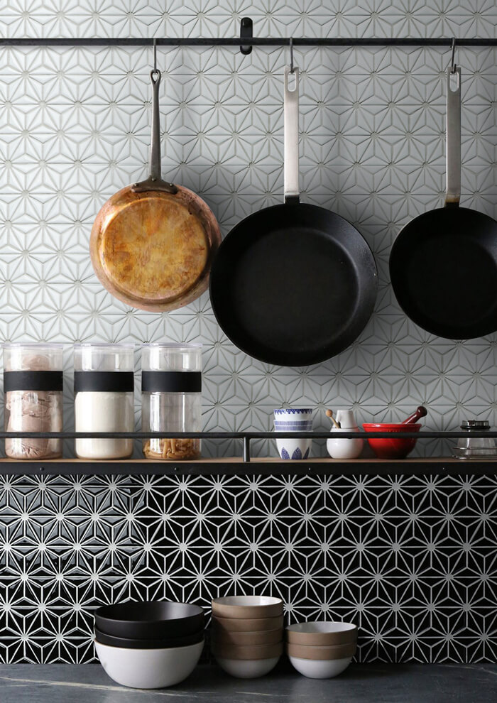 snowflake pattern kitchen wall tile backsplash.jpg
