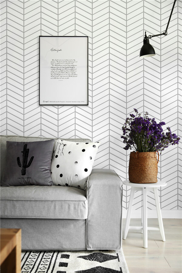 white fishbone tiles for nordic living room style.jpg