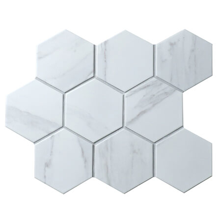 carrara white hexagon mosaic tiles CZM932Y.jpg