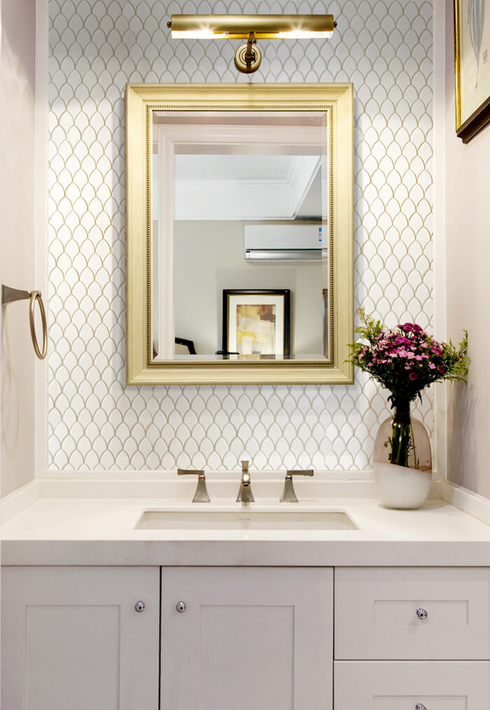 shiny white fish scale shower wall mosaic tile.jpg