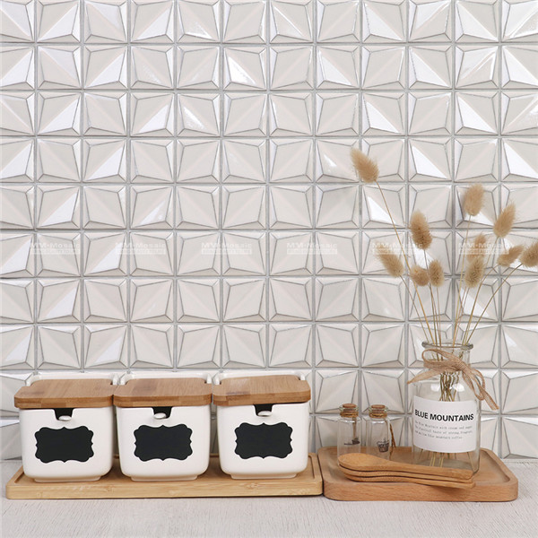 beige kitchen backsplash tile