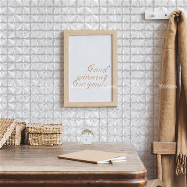 entryway wall glossy porcelain tile