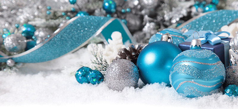 ice blue christmas ideas