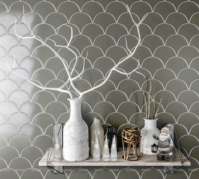 best mosaic tile in Scandinavian style