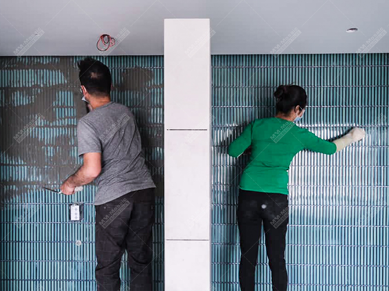 install wall tiles