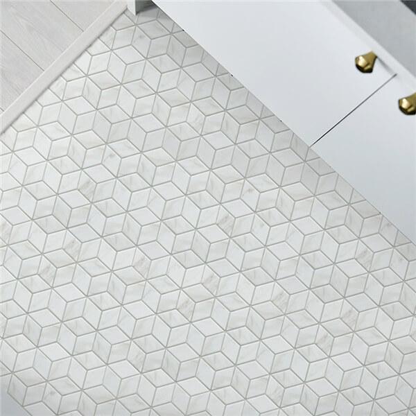 2 Quot Ink Jet 3d Marble Mosaic Tile Porcelain Wall Tile For Sale