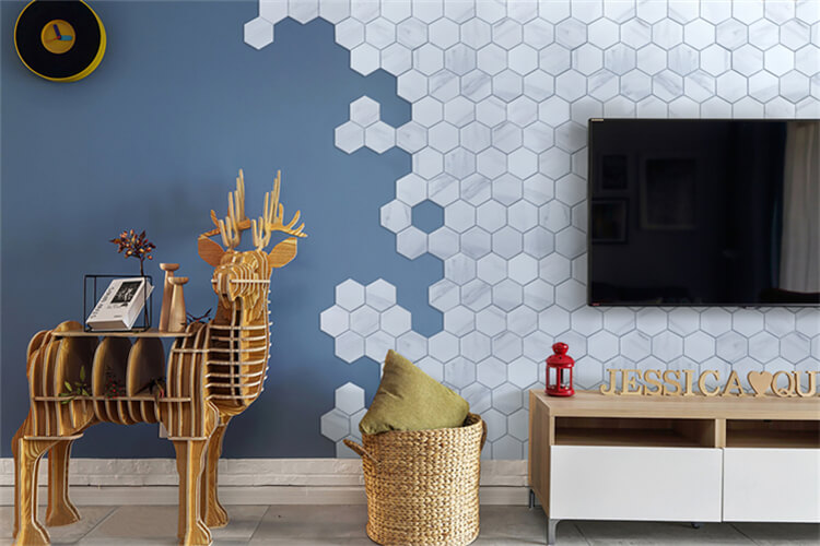 9 Genius Backsplash Fliesen Ideen Für TV Wand Design. «